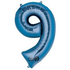 Blue Number 9 Foil