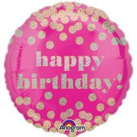 Dotty Pink Birthday