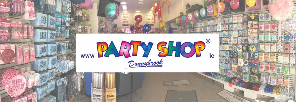 party-shop-backgroup-with-logo