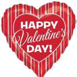 Valentines Stripes