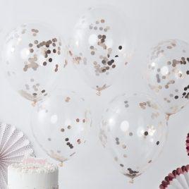 Confetti Latex – Rose Gold