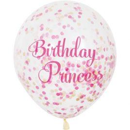 Confetti Paper Latex – Princess