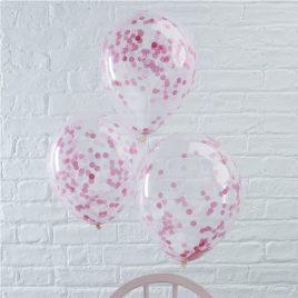 Confetti Latex – Pink