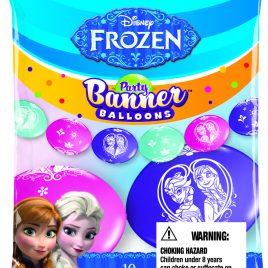 Frozen Banner Balloons
