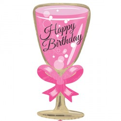 Birthday Glass