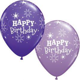 Sparkle Birthday – Purple
