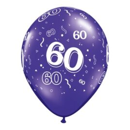 60th Assorted Colours