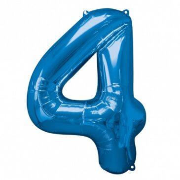 4 Blue Foil