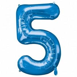 5 Blue Foil