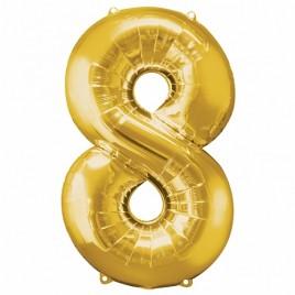 8 Gold Foil