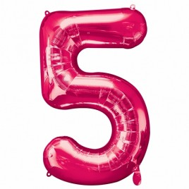 5 Pink Foil