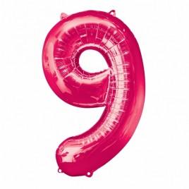 9 Pink Foil