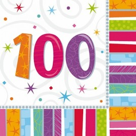 Radiant 100th Napkins