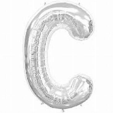 C Silver Letter Foil