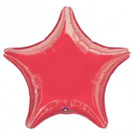 Red Star Foil – Flat