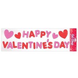 Valentine's Window Stickers