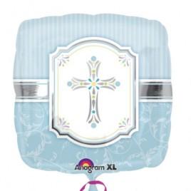 Blessings Blue Foil