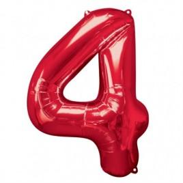 4 Red Foil