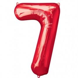 7 Red Foil