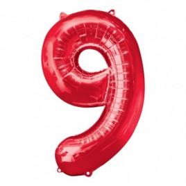 9 Red Foil