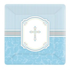 Blessing Blue Plates (Large)