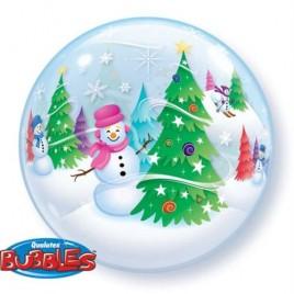 Snowman Bubble