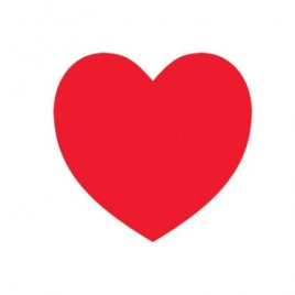 Valentine Heart Cutout 26.6cm