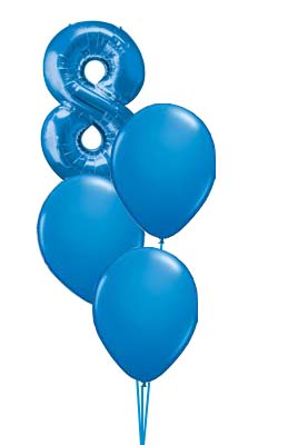 8 Blue Bouquet Prices start from