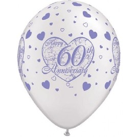 60th Anniversary Little Hearts