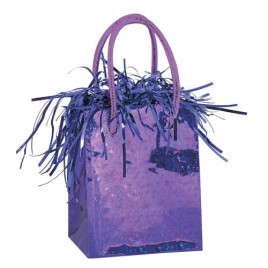 Purple Gift Bag Weight