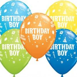 Multi Coloured Birthday Boy
