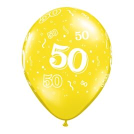 50th Assorted Colours