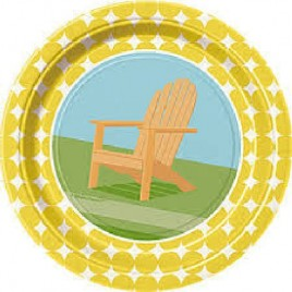 Sunny Chairs Plates