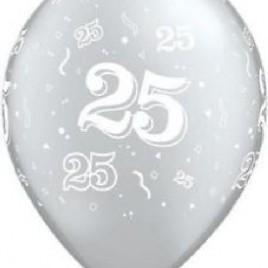 25th Silver 6Pk