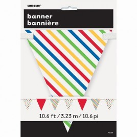 Bunting – Paper Stripes