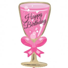 Birthday Glass Shape