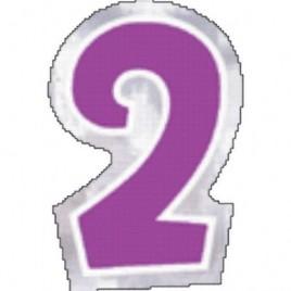 Number 2 Sticker
