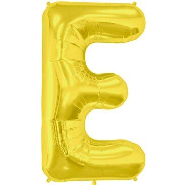 E Gold Letter Foil
