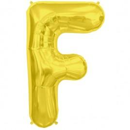 F Gold Letter Foil