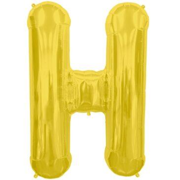 H Gold Letter Foil