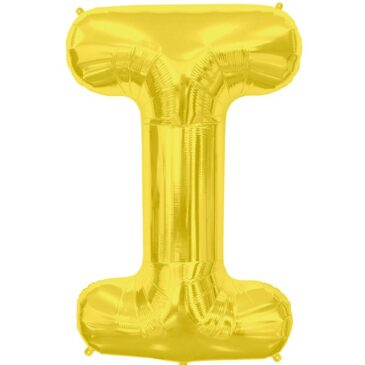 I Gold Letter Foil