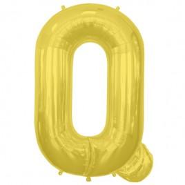 Q Gold Letter Foil