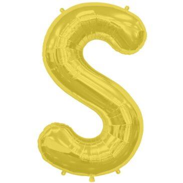 S Gold Letter Foil