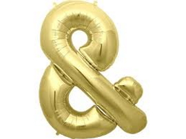Ampersand Gold Foil