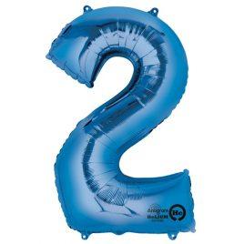 Blue Number 2 Foil