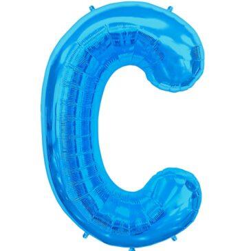 C Blue Letter Foil