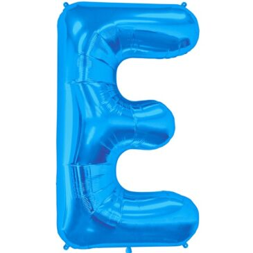 E Blue Letter Foil