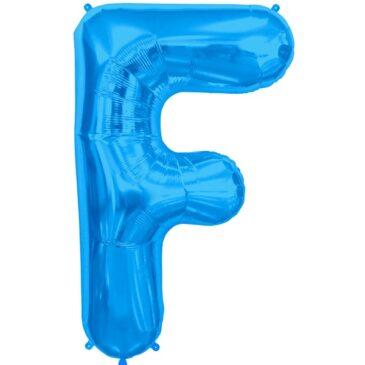 F Blue Letter Foil