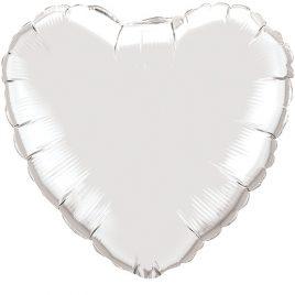 Silver Heart Foil