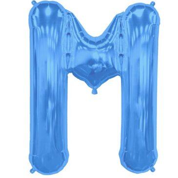 M Blue Letter Foil